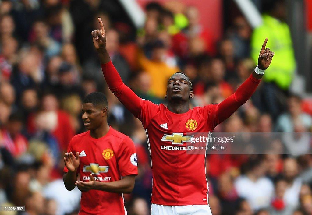 Manchester United v Leicester City - Premier League : News Photo