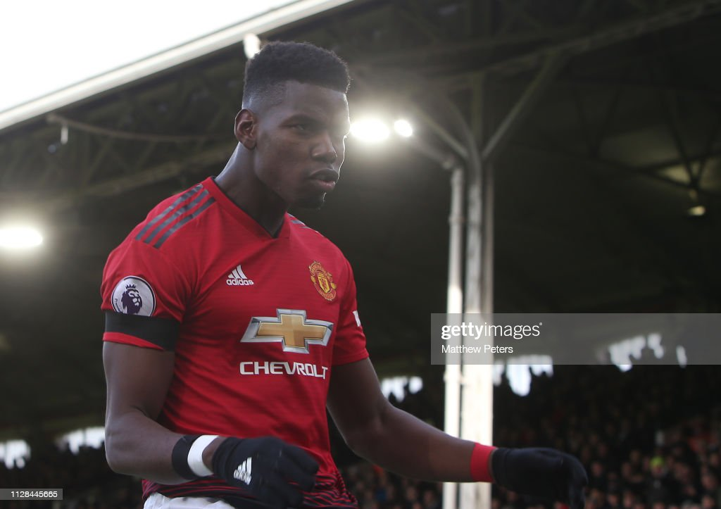 Fulham FC v Manchester United - Premier League : News Photo