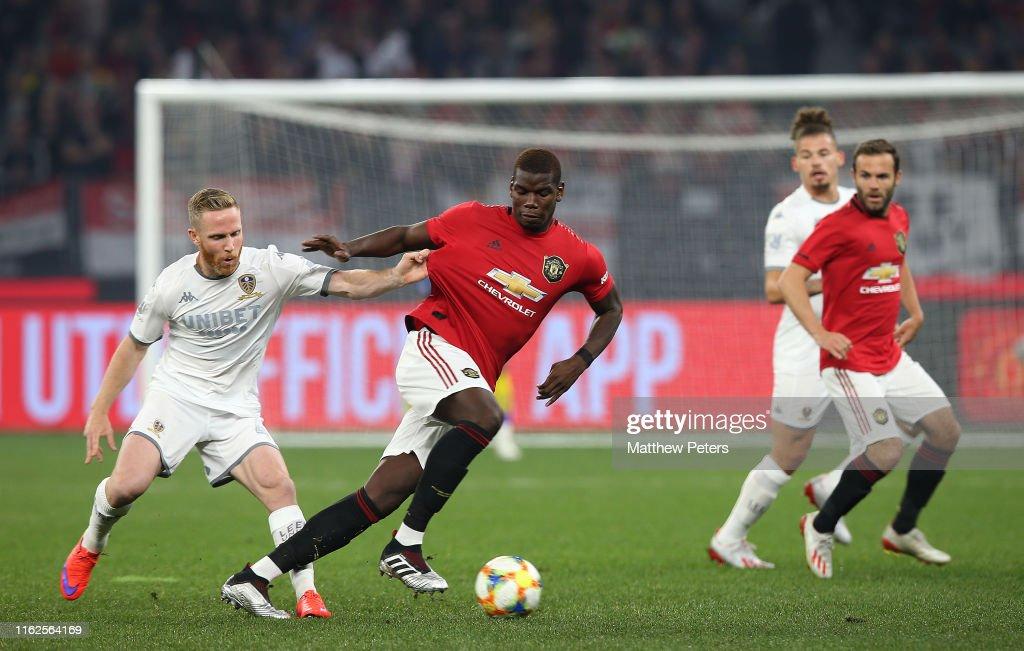 Manchester United v Leeds United - Pre-Season Friendly : News Photo