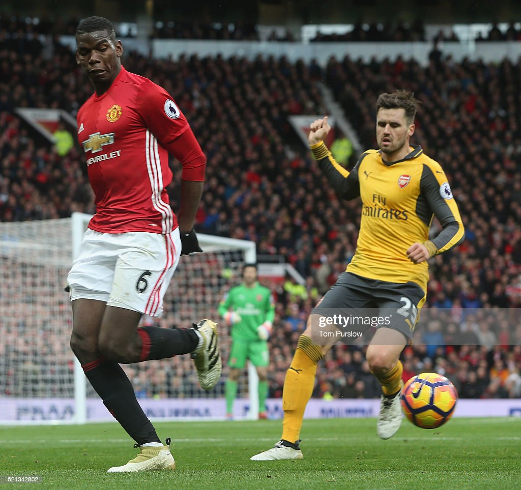 Manchester United v Arsenal - Premier League : News Photo