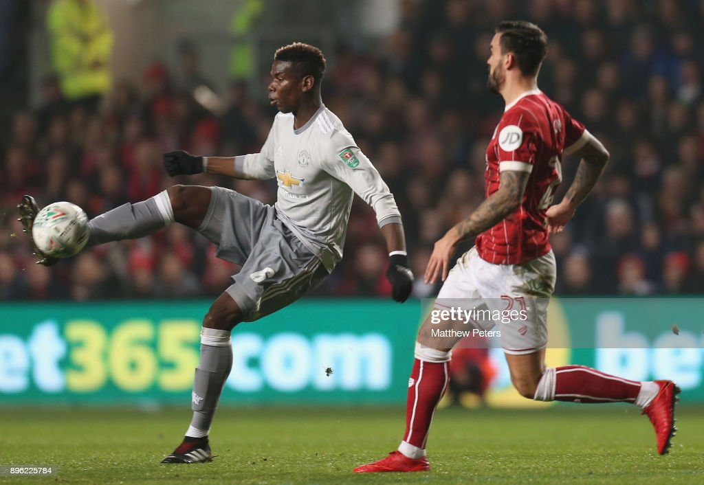 Bristol City v Manchester United - Carabao Cup Quarter-Final : ニュース写真