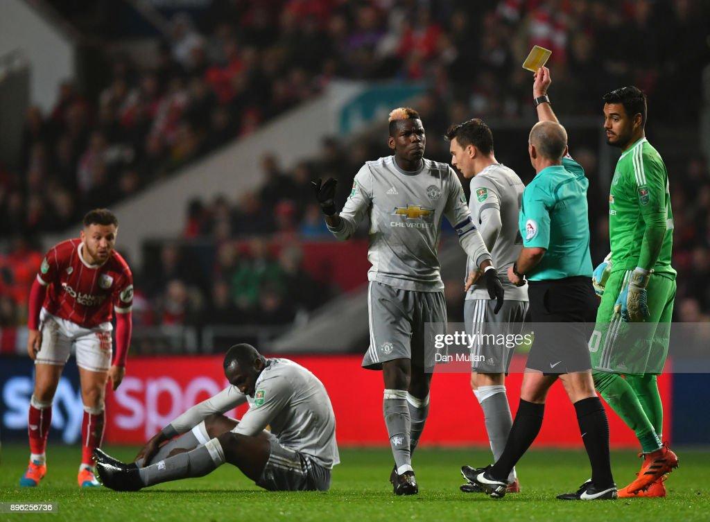 Bristol City v Manchester United - Carabao Cup Quarter-Final : Nyhetsfoto