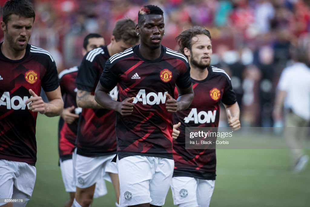 International Champions Cup match FC Barcelona v Manchester United : News Photo