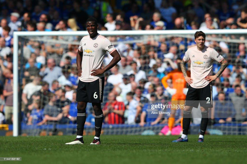 Everton FC v Manchester United - Premier League : Nachrichtenfoto