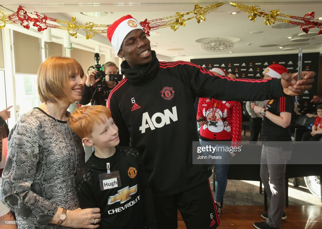 Manchester United Foundation's Dream Day : News Photo