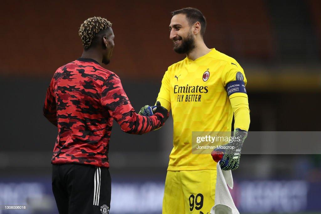 AC Milan v Manchester United - UEFA Europa League Round Of 16 Leg Two : News Photo