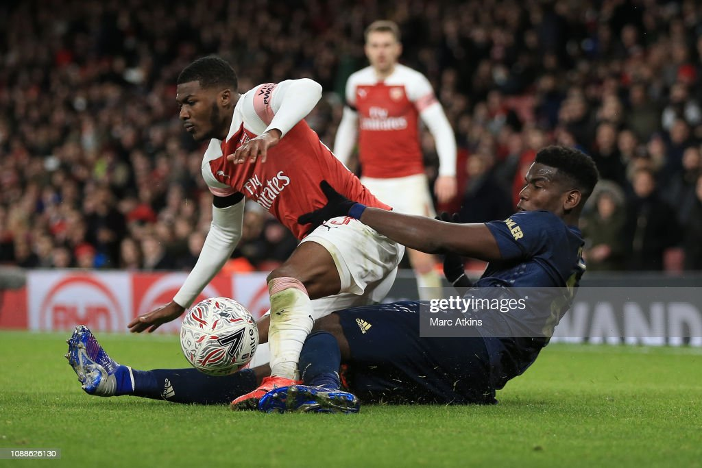 Arsenal v Manchester United - FA Cup Fourth Round : News Photo