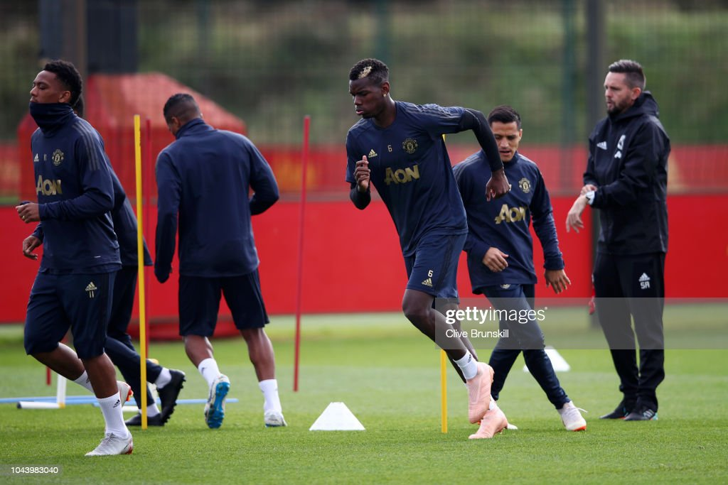 Manchester United Training Session : Nachrichtenfoto