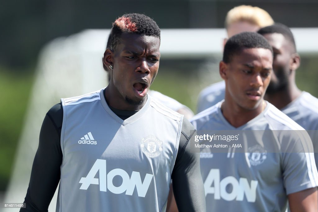 Manchester United Open Training Session
