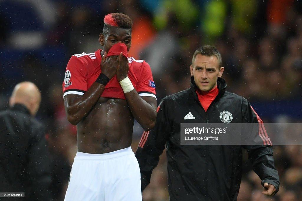 Manchester United v FC Basel - UEFA Champions League : News Photo