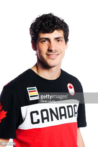 Paul Poirier poses for a portrait during the Canadian Olympic Committee Portrait Shoot on June 3, 2017 in Calgary, Alberta, Canada.