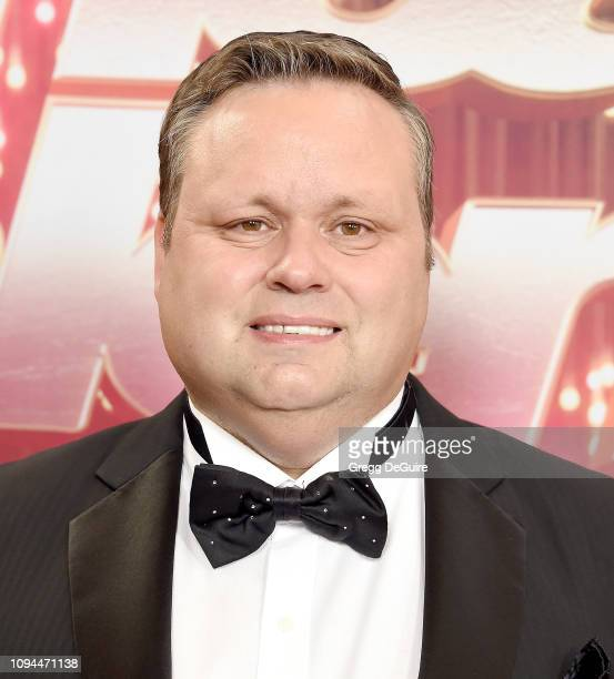 Paul Potts arrives at America's Got Talent The Champions Finale at Pasadena Civic Auditorium on October 17 2018 in Pasadena California