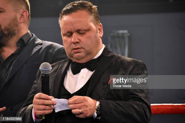 Paul Potts during Petko's Fight Night at Maritim Hotel on October 26 2019 in Berlin Germany