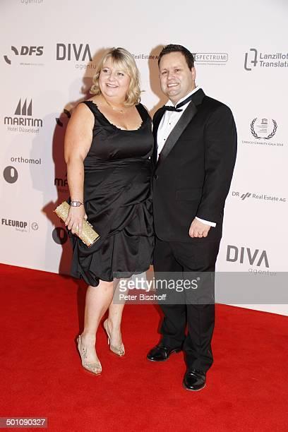 """Paul Potts, Ehefrau Julie-Ann, Charity-Veranstaltung, 18. """"Unesco-Benefiz-Gala"""" 2010 für Kinder in Not, Hotel """"Maritim"""", Düsseldorf,..."""
