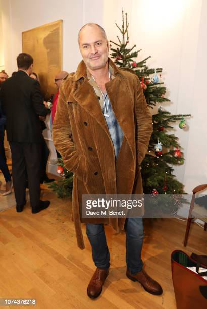 Paul Price attends a private view of 'Art Design' hosted by Magdalena Gabriel and Patrick Grant at Norton Sons on December 18 2018 in London England