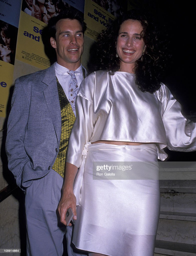 """Andie Macdowell Sex Tape paul qualley and andie macdowell during """"sex, lies and"""
