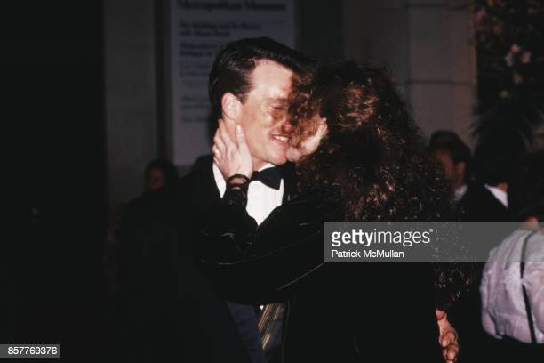 Paul Qualley Andie MacDowell CFDA Awards Lincoln Center NYC January 8 1989