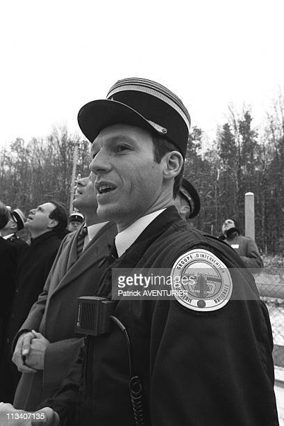 Paul Quiles And The French Gendarmerie Ct Unit 'Gign' On November 23th 1985 In VersaillesFrance