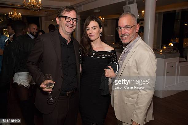 Paul Ratliff, actress Maggie Siff, and James Suskin attend Gotham Magazine Celebrates September Fall Fashion Issue with Cover Stars Paul Giamatti and...