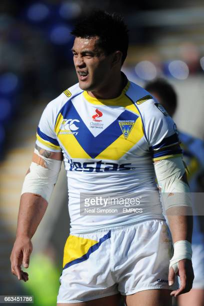 Paul Rauhihi Warrington Wolves
