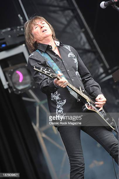 Paul Raymond of UFO, live on stage at High Voltage Festival in London, on July 25, 2010.