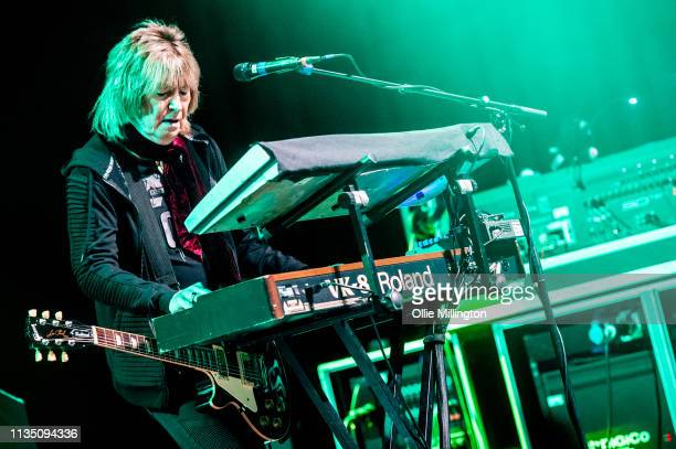 Paul Raymond of UFO performs on stage for the last time in the UK during the Last Orders 50th Anniversary tour at O2 Forum Kentish Town on April 5...