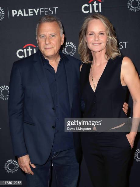 Paul Reiser and Helen Hunt of Mad About You attend The Paley Center for Media's 2019 PaleyFest Fall TV Previews Spectrum at The Paley Center for...