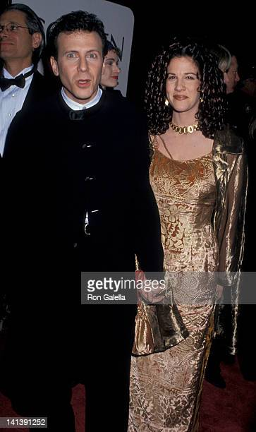 Paul Reiser and Paula Ravets at the 52nd Annual Golden Globe Awards Beverly Hilton Hotel Beverly Hills