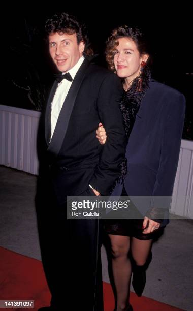 Paul Reiser and Paula Ravets at the 95th Birthday Party for George Burns CBS TV Studios Los Angeles