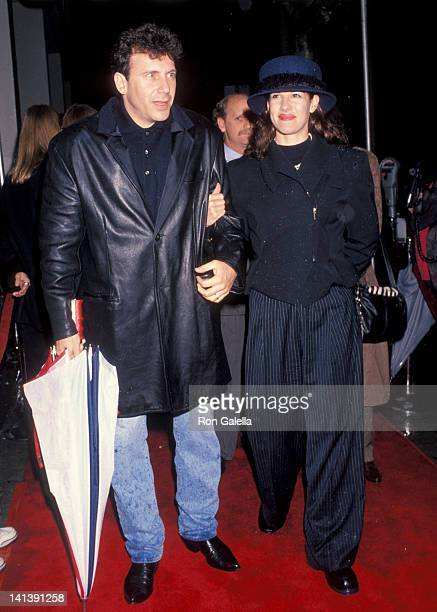 Paul Reiser and Paula Ravets at the Premiere of 'Benny Joon' Writer's Guild Theater Beverly Hills