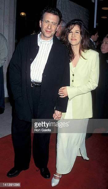Paul Reiser and Paula Ravets at the Premiere of 'Bye Bye Love' Mann National Theater Westwood