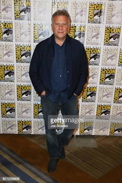 Paul Reiser arrives at the Stranger Things press line at ComicCon International 2017 on July 22 2017 in San Diego California