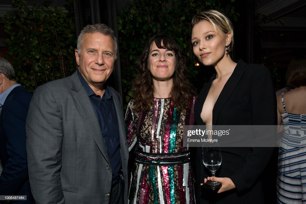 Paul Reiser, Susanna Fogel and Ivanna Sakhno attend the after party for the premiere of Lionsgate's 'The Spy Who Dumped Me' on July 25, 2018 in Los Angeles, California.