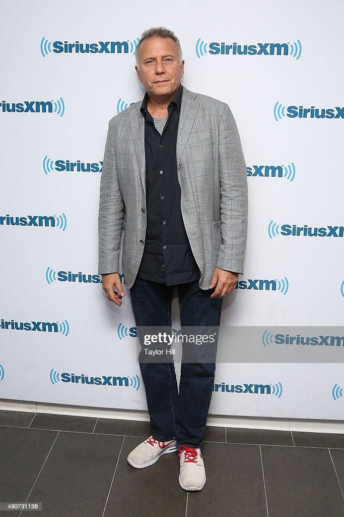 Paul Reiser visits the SiriusXM Studios on September 30, 2015 in New York City.