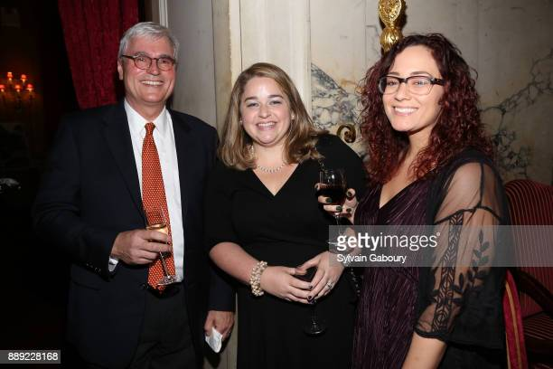 Paul Reiss Amanda Valvano and Antoinette Moreno attend The Institute of Classical Architecture Art Celebrates the Sixth Annual Stanford White Awards...
