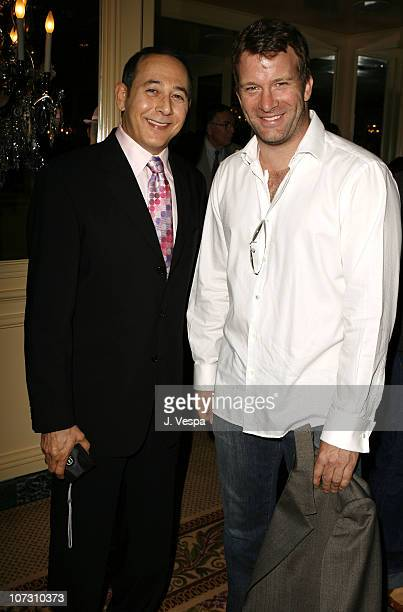 Paul Reubens and Thomas Jane during AFI Honors Hollywood's Arquette Family With The Sixth Annual 'Platinum Circle Awards' Green Room and Show in Los...