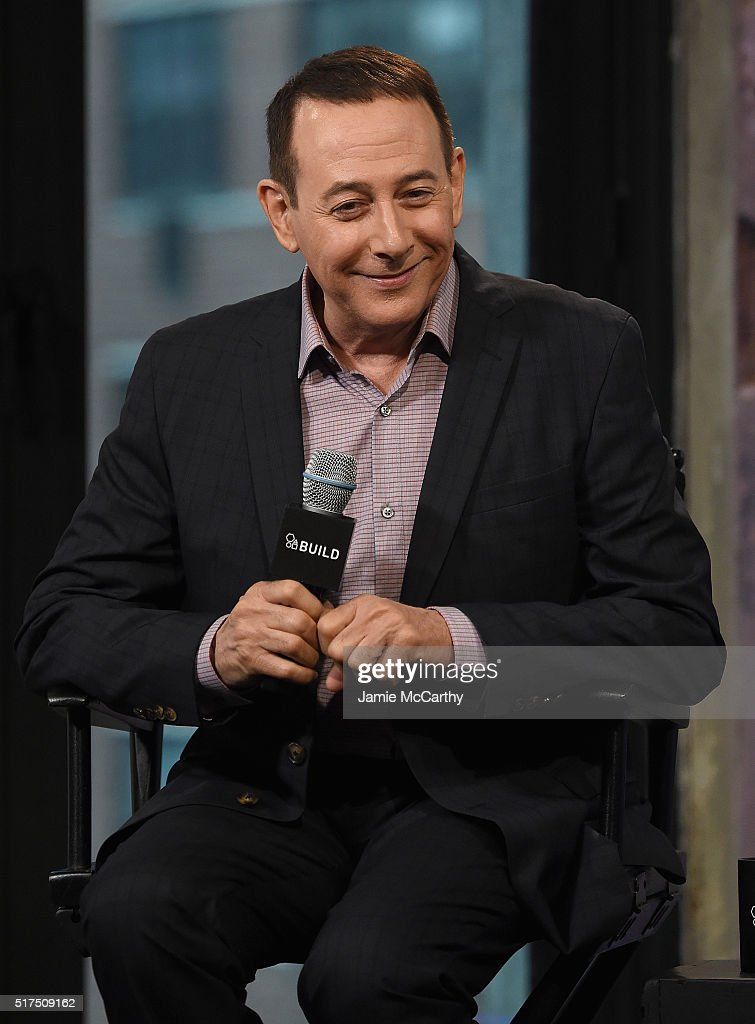 Paul Reubens attends the AOL Build Speaker Series to discuss 'Pee-wee's Big Holiday' at AOL Studios In New York on March 25, 2016 in New York City.