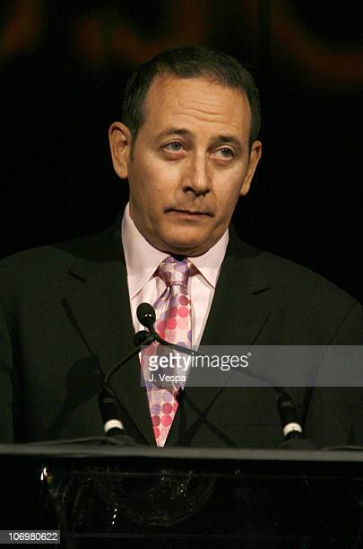 Paul Reubens during AFI Honors Hollywood's Arquette Family With The Sixth Annual 'Platinum Circle Awards' Green Room and Show in Los Angeles...
