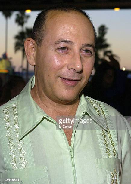 Paul Reubens during Hairspray Opening Night Los Angeles Red Carpet at Pantages Theatre in Los Angeles California United States
