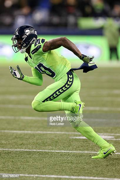 Paul Richardson of the Seattle Seahawks in action during the game against the Los Angeles Rams at CenturyLink Field on December 15 2016 in Seattle...