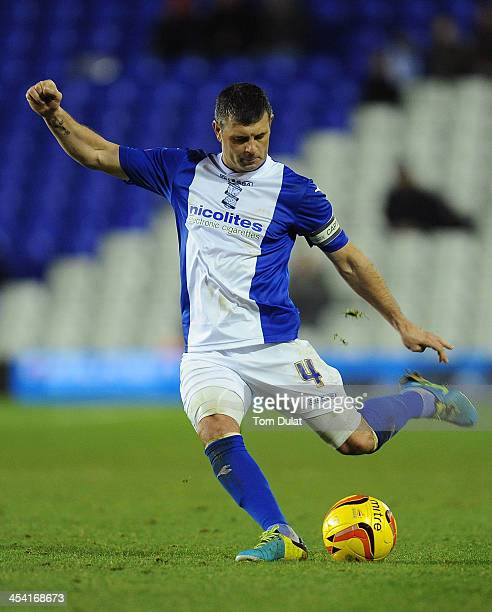 Paul Robinson of Birmingham City in action during the Sky Bet Championship match between Birmingham City and Middlesbrough at St Andrews Stadium on...