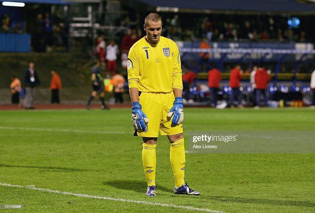 Euro2008 Qualifier - Croatia v England : News Photo
