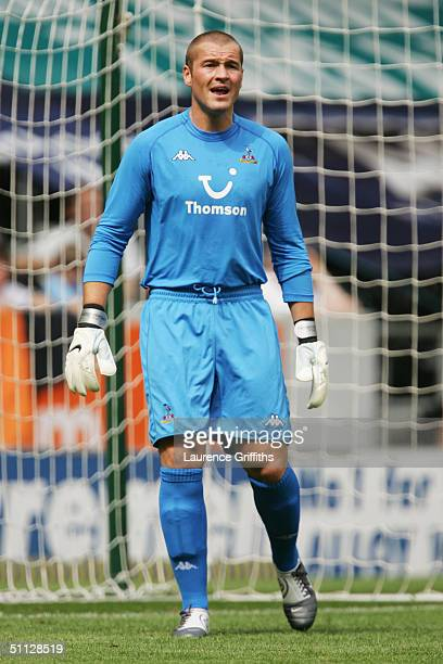 Paul Robinson of Tottenham Hotspur in action during the Pre Season Friendly match between Hull City and Tottenham Hotspur at The KC Stadium on July...