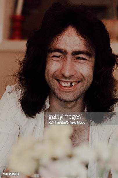 Paul Rodgers at home in London London 1976