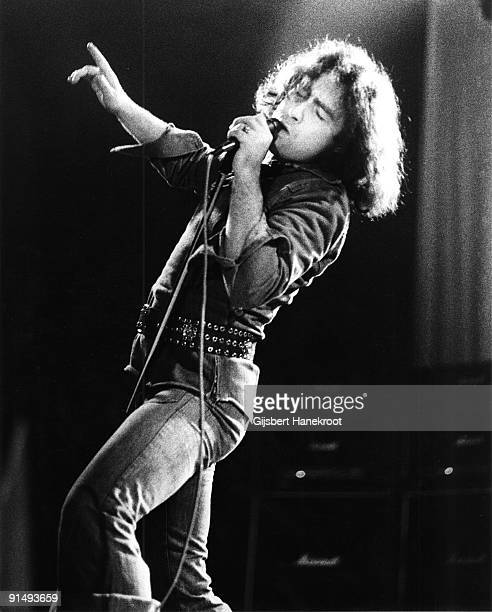 Paul Rodgers from Bad Company performs live on stage in Amsterdam Holland in 1975