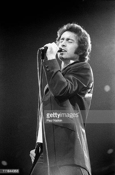 Paul Rodgers of Bad Company during Bad Company in Concert at Chicago Stadium in Chicago March 23rd 1979 at Chicago Stadium in Chicago Illinois United...