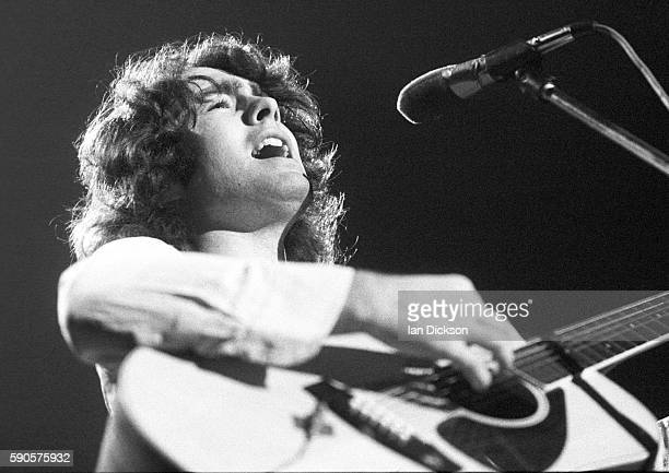 Paul Rodgers of Bad Company performing on stage at City Hall Newcastle upon Tyne 30 November 1974