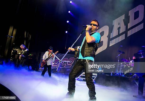 Paul Rodgers of Bad Company performs in concert at DTE Energy Center on July 23 2013 in Clarkston Michigan
