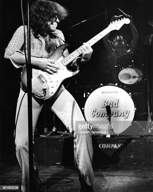 Paul Rodgers of Bad Company performs live on stage in Amsterdam Holland in 1974