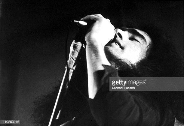 Paul Rodgers of Free performs on stage at Newcastle City Hall 1972